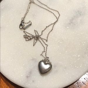 Tiffany and Co. heart necklace